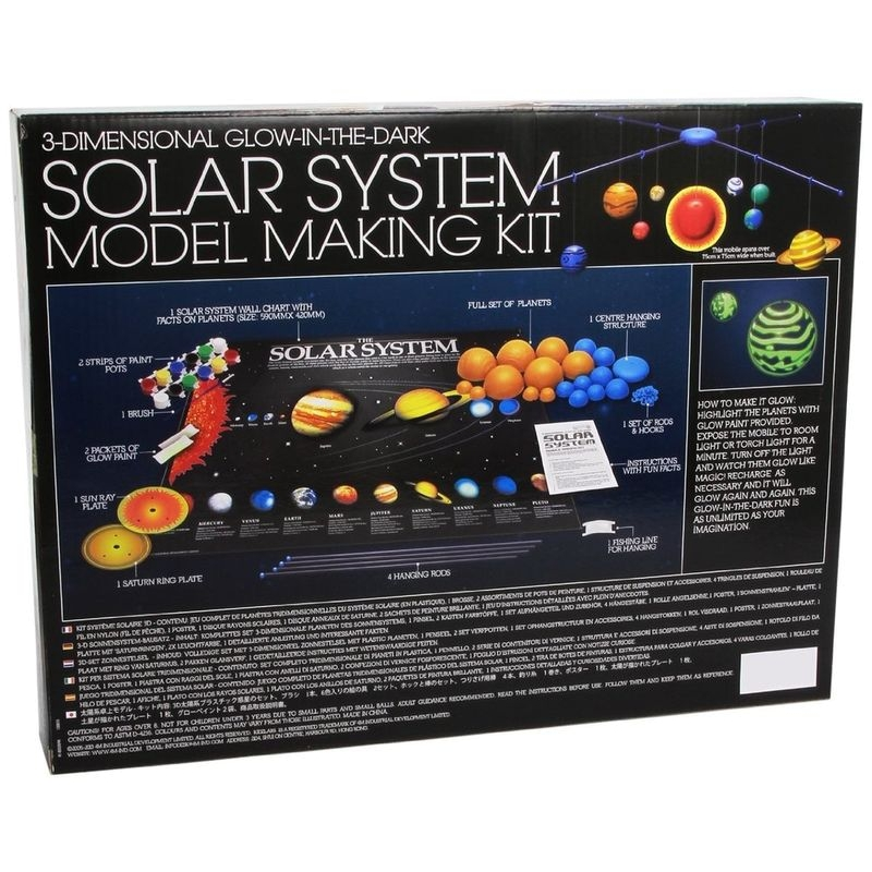 3d Solar System Model Making Kit Raff And Friends