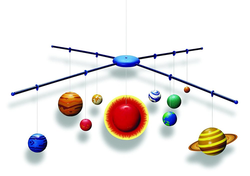 3D Solar System Model Making Kit - Raff and Friends