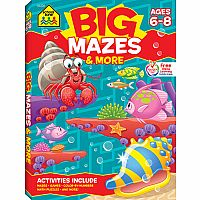 BIG Mazes & More (Ages 6-8)